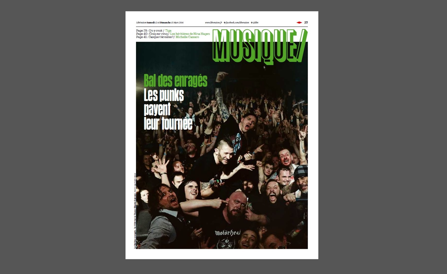Jeff Buckley, Alex Gopher, Damien Jurado : la playlist du cahier musique de Libé du 12 mars 2016