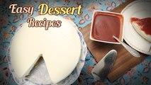Easy Dessert Recipes - No Bake Cheesecake | Ada Payasam | Souffle | Vegan Cake