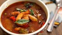 Thai Red Curry with Prawns | How To Make Thai Curry | The Bombay Chef – Varun Inamdar
