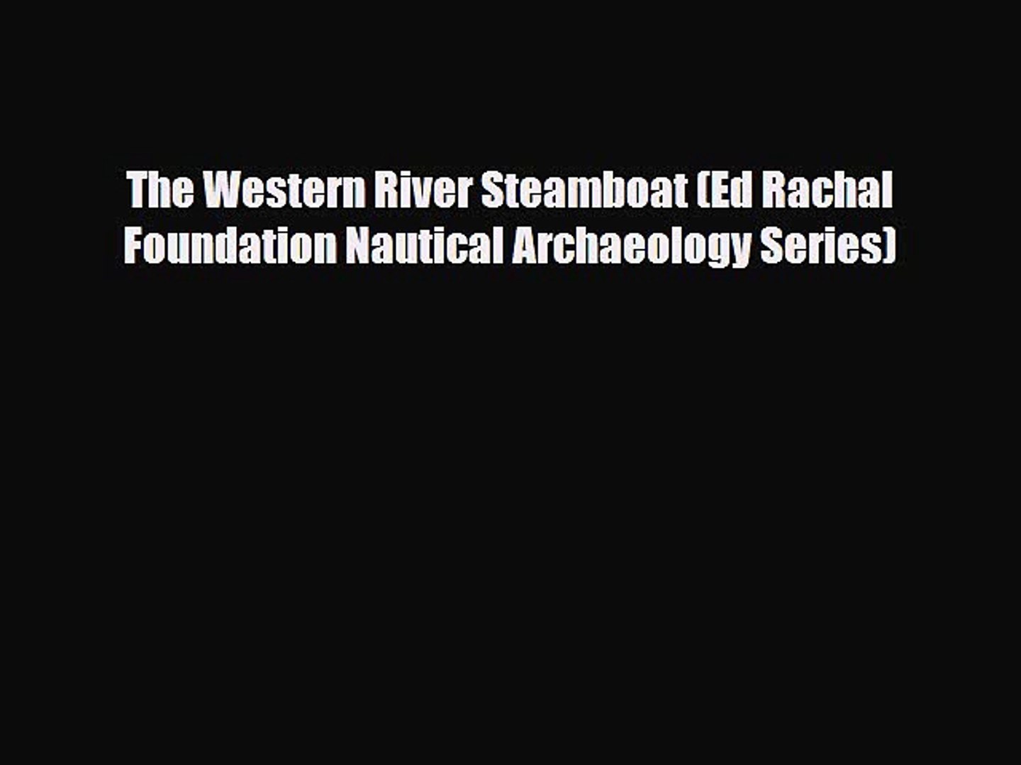 The Sea of Galilee Boat (Ed Rachal Foundation Nautical Archaeology Series)