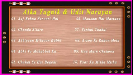 Alka Yagnik, Udit Narayan Full Romantic Songs Jukebox