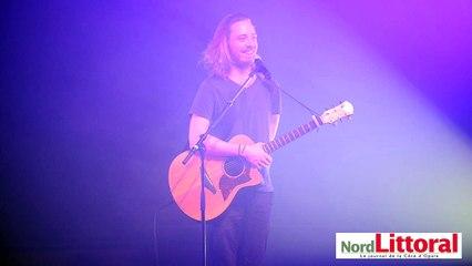 Christophe Willem en concert à Calais le 9 mars 2016