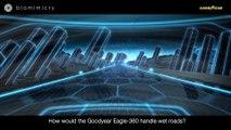 Goodyear presenta un concepto de rueda esférica que podría ser utilizada en los coches autónomos del futuro