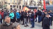 Des retraités du Calvados manifestent à Caen