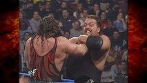 Undertaker & Kane vs Big Show & Kaientai (Undertaker Teaches Kane The Last Ride)! 4/12/01