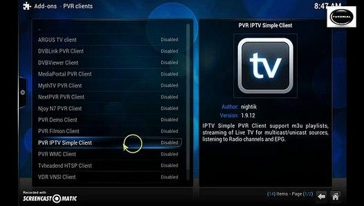 How To Add Iptv Nbc Sports ,Nbc Golf HD Live TV Kodi Xbmc