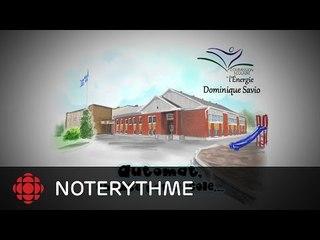 NoteRythme  - École Dominique-Savio - Le Destin d'Automat