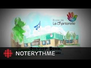 NoteRythme - École de la Chanterelle - On est les plus forts d'Olivier Dion