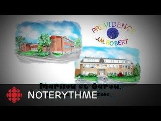 NoteRythme - École Providence/J.M. Robert - Tu es comme ça de Marilou et Garou