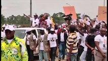 Congo, Le président Denis Sassou N'guesso en campagne