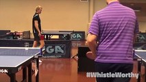 Unreal Ping Pong Trick Shots! - Editing Sports - #WhistleWorthy