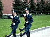 Relève de la garde au Kremlin - Kremlin guard change 1