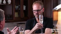 Alton Brown's Bubbly Tastes like WHAT!?   Brown Bag Wine Tasting   OraTV