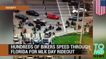 Martin Luther King Day: bikers speed through Florida streets to honor Martin Luther King - TomoNews