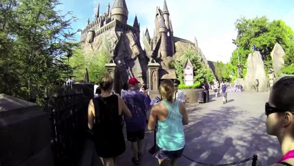 Harry Potter and the Forbidden Journey Full Ride POV - Islands of Adventure in Orlando, Florida,