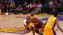 L'évolution de Kobe Bryant et LeBron James à travers les ans
