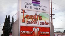 Tony's Smoke Shop commercial E-cigs - Corvallis, OR