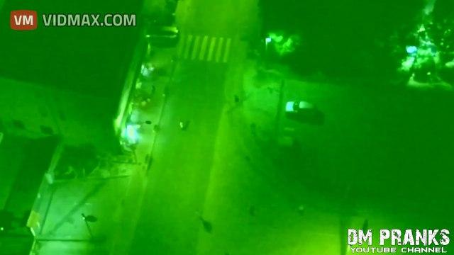 Zombie Invasion Scare Prank Terrifies Unsuspecting Public