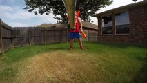 Juggler Attaches GoPro to Juggling Pin | GoPro Juggling Cam