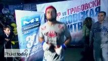 UFCs new stars training at Phukets Tiger Muay Thai