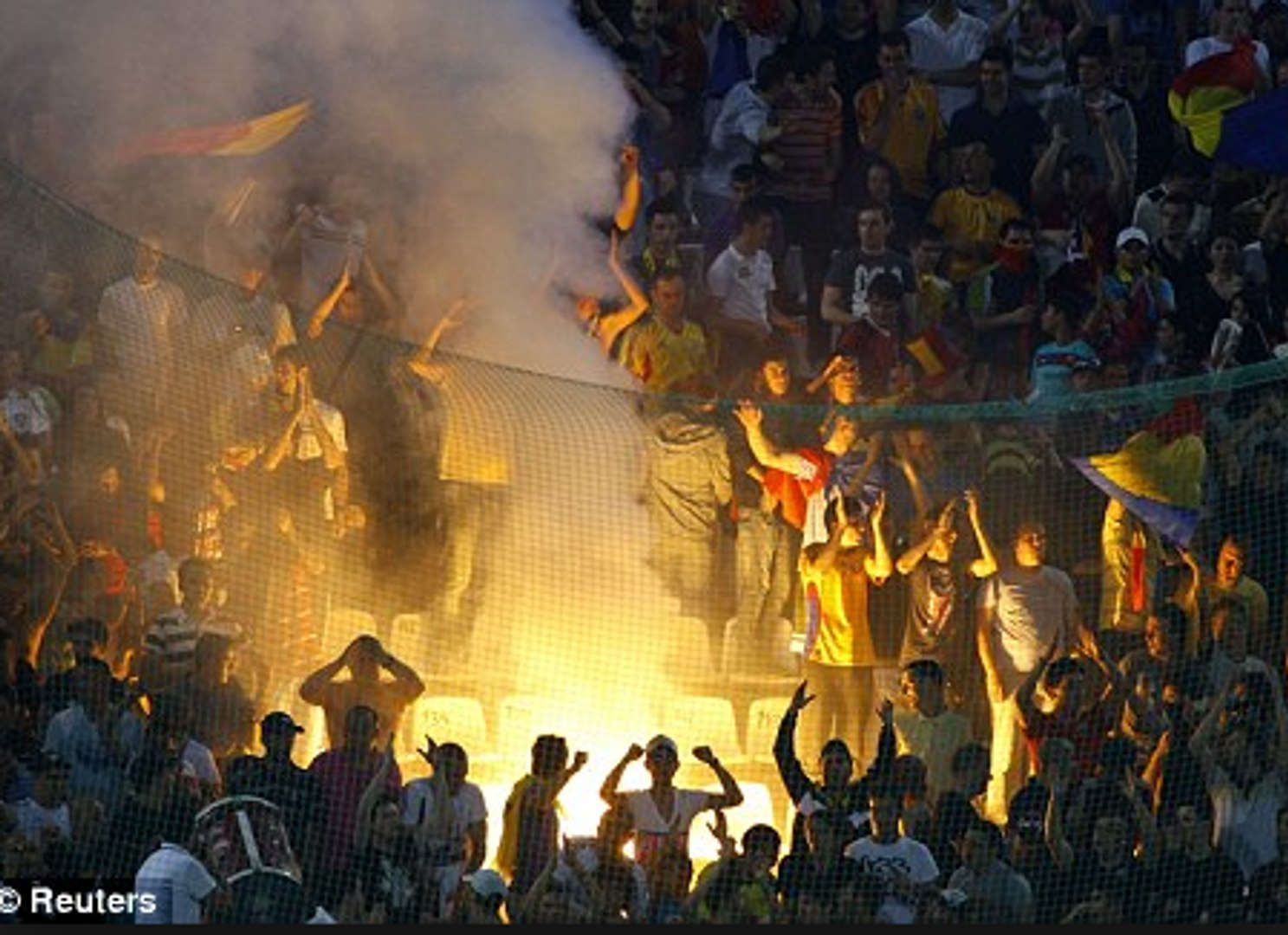Bosnia & Herzigovina Football Fans Clash