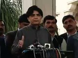 Pakistan cricket team will not depart for India till security clearance granted, says interior minister Chodury Nisar