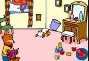 Le bébé ourson - dessin animé interactif et éducatif  Dessins Animés En Français