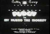 Betty Boop 1930 Meu amigo um Macaco Dublado