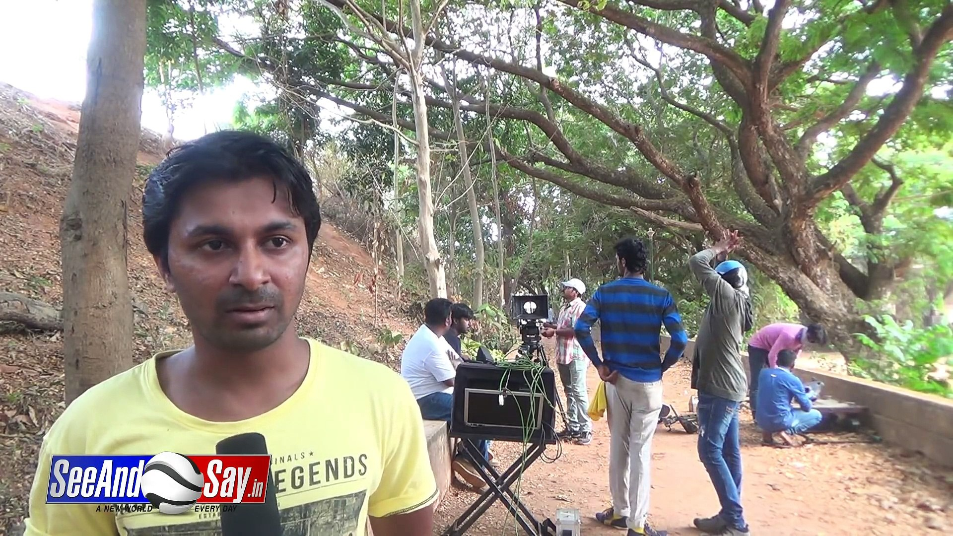 Marnemi || Tulu Movie || After a Small Break  Busy In Song Shoot With Full Energy