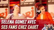 Selena Gomez avec ses fans chez Cauet - C'Cauet sur NRJ