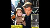 So sweet David Beckham daughter Harper in London