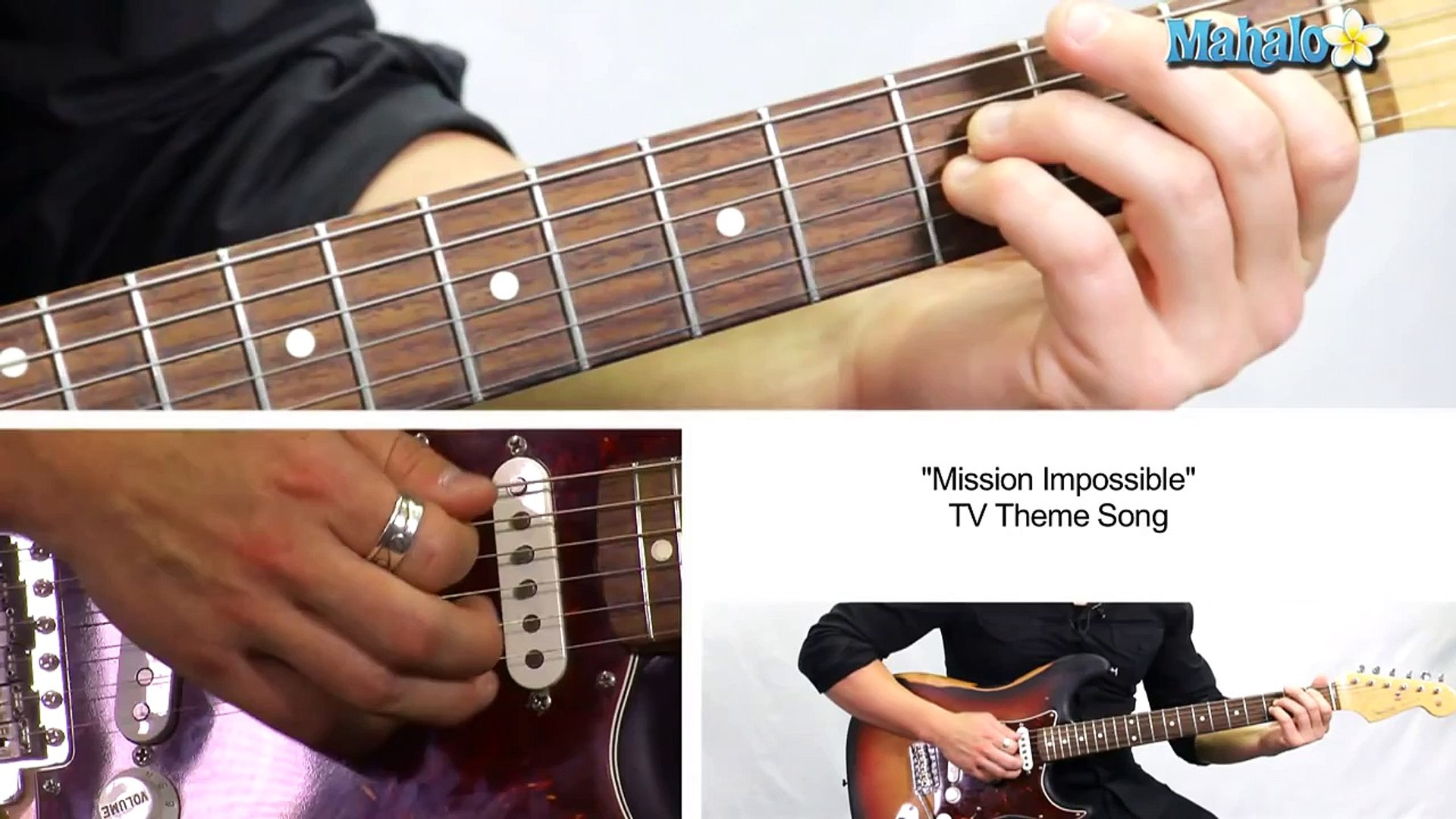 How to Play Mission Impossible TV Theme Song on Guitar