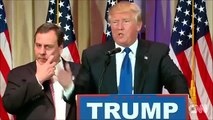 Chris Christies facial expressions during Donald Trumps speech were easily the best part