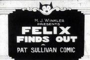 Felix el Gato - Felix the Cat - Film #19 - Felix Finds Out - 1924