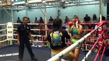 Rozi Komlós VS Justine Chokchai Muay Thai: Bangla Boxing Stadium, 30th Jan 2015