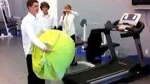 Ha Ha Ha Funny man vs Running machine