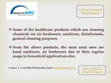 Cleaning Chemicals Market draws the largest of its market share Healthcare Application.