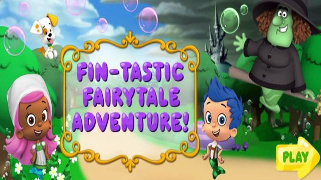 Bubble Guppies Fin-tastic Fairytale Adventure - Bubble Guppies Games - Nick Jr.