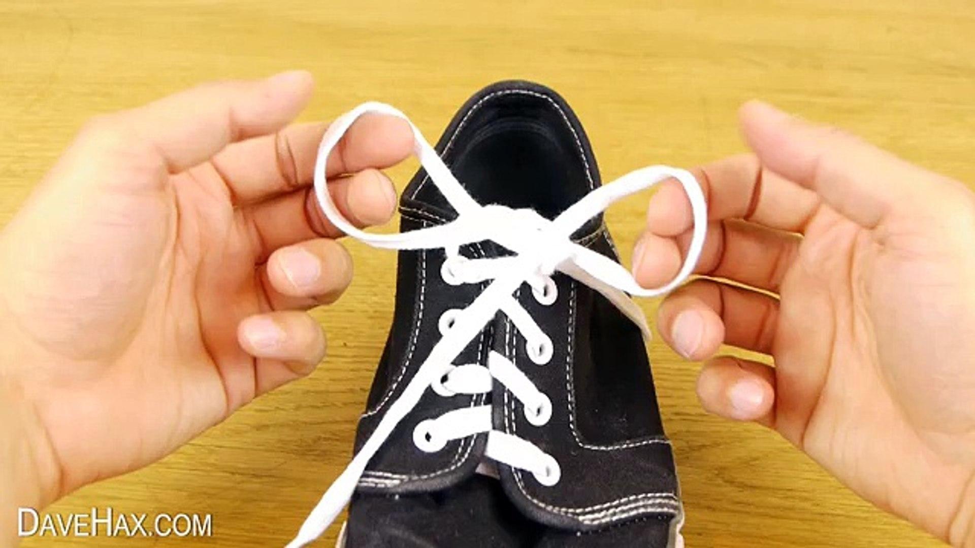 How To Tie Shoe Laces  Teach Children Video.
