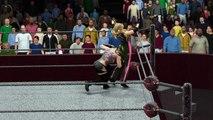 WWE 2K16 indo florez v trish stratus