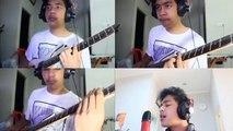 Ed Sheeran PHOTOGRAPH orbiting guitar rig 5 cover version