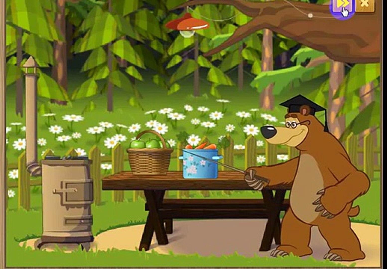 Маша и Медведь ведём Счет овощи фрукты и ягоды складываем и отнимаем Masha i medved 20143273
