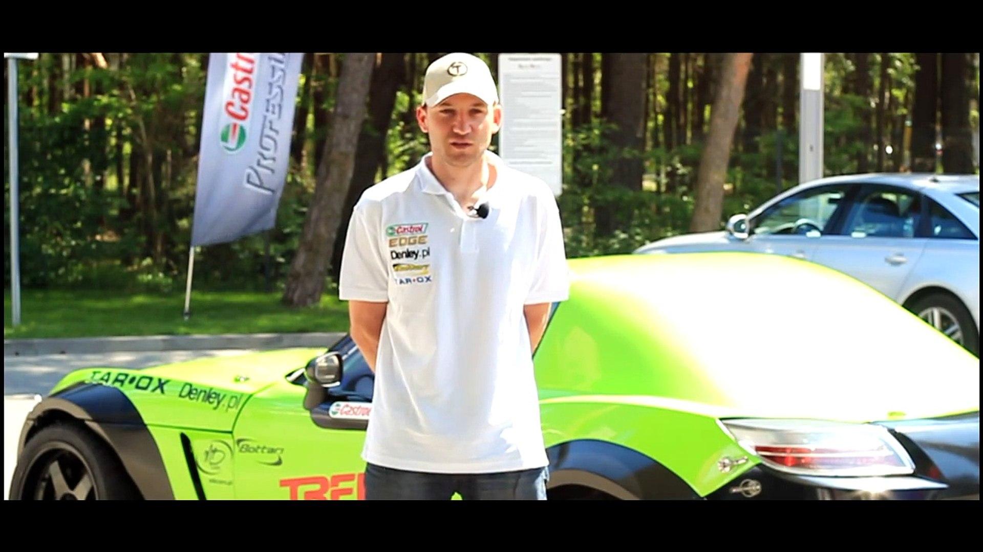 Paweł Trela Opel GT dla Drift Mania - Prezentacja nowego driftowozu i trening