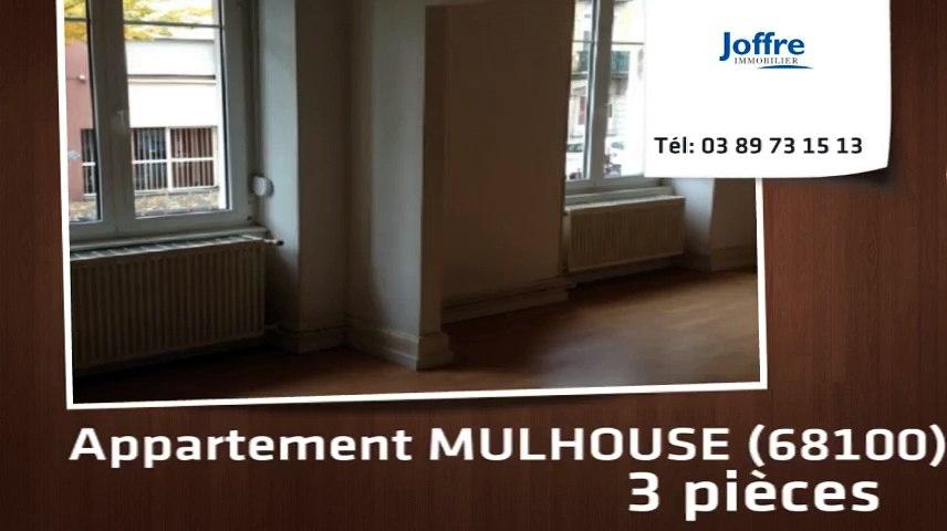 A louer - Appartement - MULHOUSE (68100) - 3 pièces
