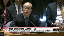 S. Korea sends letter to UNSC sanctions committee in response to N. Korea's short-range missile launch