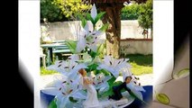 Оригинальные цветы из колготок. Идеи из интернета.