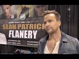 Sean Patrick Flanery Talks Boondock Saints 3