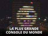 Un immeuble devient un écran géant pour jouer à Tetris