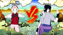 Naruto: Ultimate Ninja Storm 3 - Sakura and Kakashi Meet Sasuke - Playthrough Part 15