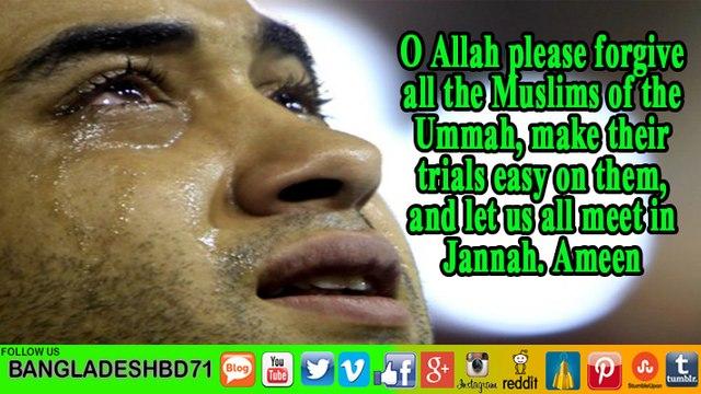 Ya Allah |Forgive us without reckoning _Heart-touching dua~Mufti Menk #Subtitle